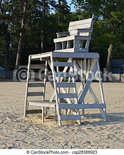 Lifeguard Stand - csp28388923