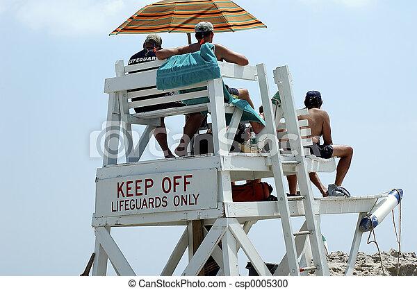 Lifeguard Stand - csp0005300