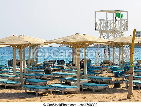 Lifeguard Stand - csp4708390