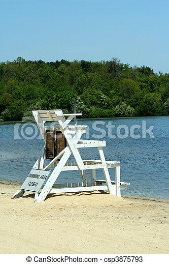 Lifeguard stand - csp3875793