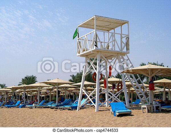 Lifeguard Stand - csp4744533