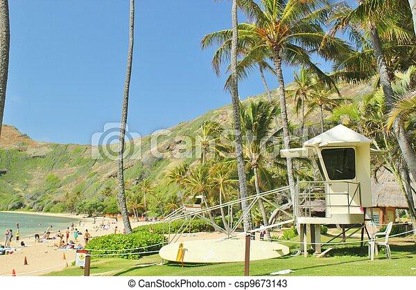 Lifeguard stand - csp9673143