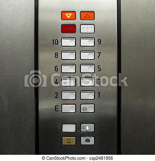Lift elevator keypad - csp2481856