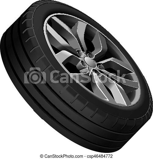 Light alloy wheel - csp46484772