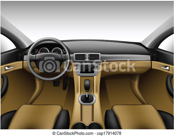 light beige leather car interior dashboard beige car interior made with gradient mesh. Black Bedroom Furniture Sets. Home Design Ideas
