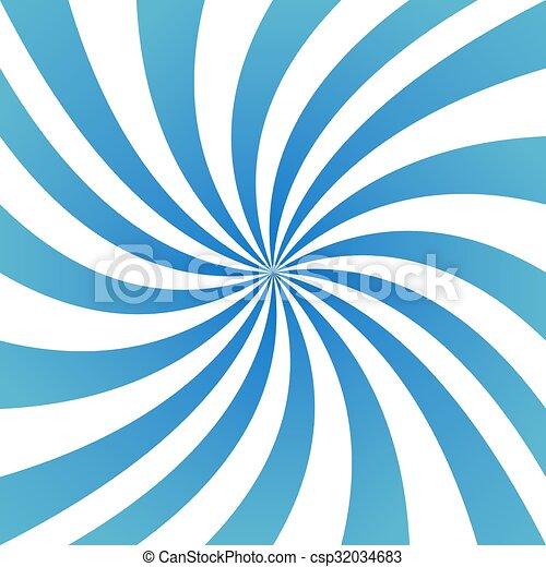 Light Blue Spiral Design Background