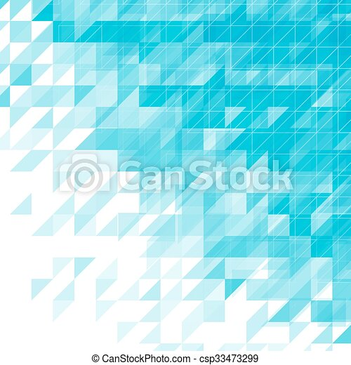 Light Blue Triangular Abstract Background Vector