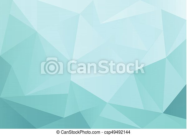 Light Blue Vector Triangle Background Design Geometric In Origami Style With Gradient