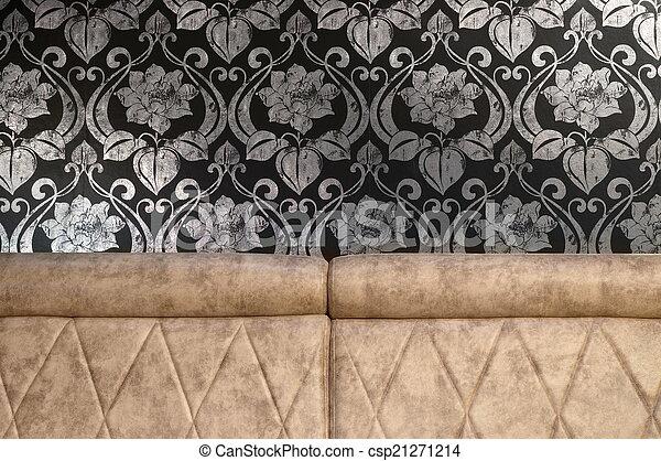 Light brown sofa - csp21271214