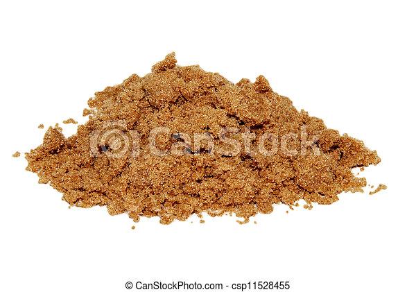 Light brown soft sugar - csp11528455