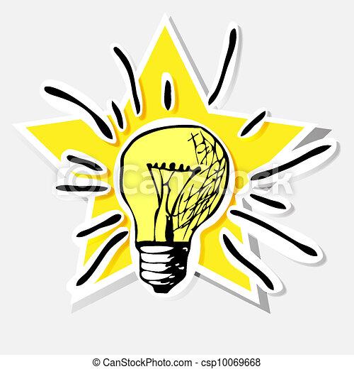 light bulb - csp10069668
