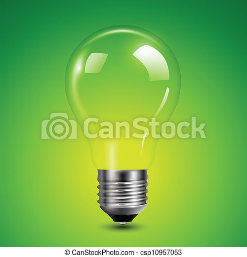 Light bulb - csp10957053