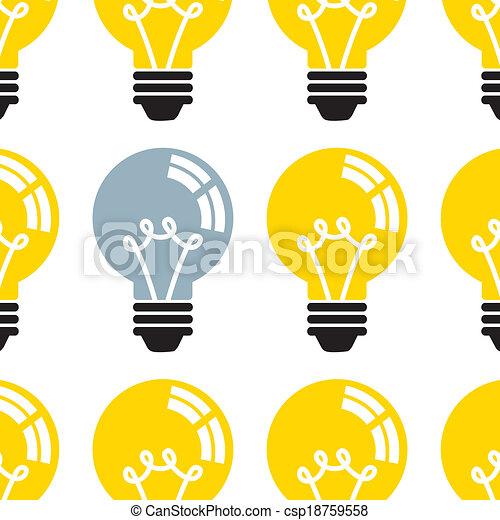 Light Bulb - csp18759558