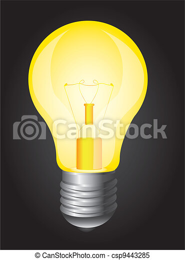 light bulb - csp9443285