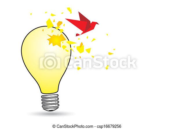 Light Bulb Concept Clipart