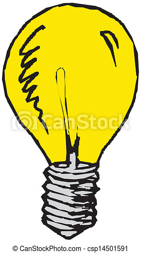 Light bulb - csp14501591