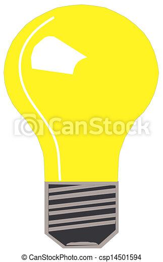 Light bulb - csp14501594