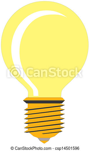 Light bulb - csp14501596