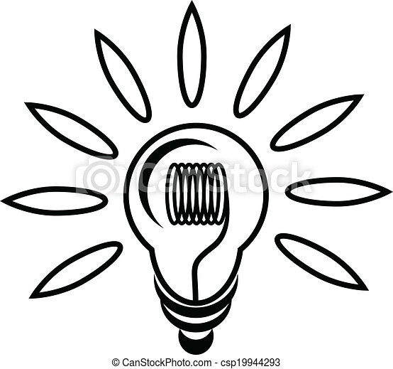 LIGHT BULB - csp19944293