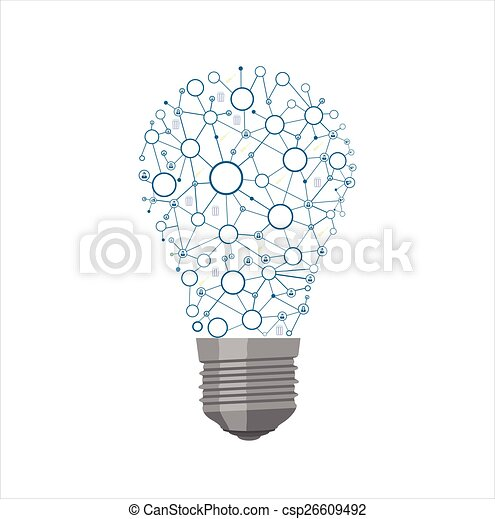 Light Bulb - csp26609492