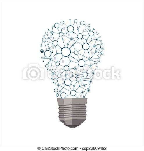 Light Bulb - csp26609492