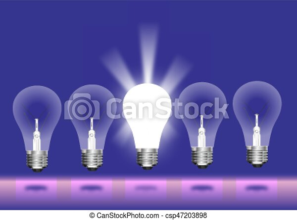 Light bulb - csp47203898