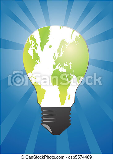 Light bulb - csp5574469