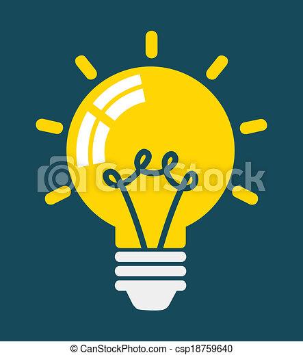 Light Bulb - csp18759640