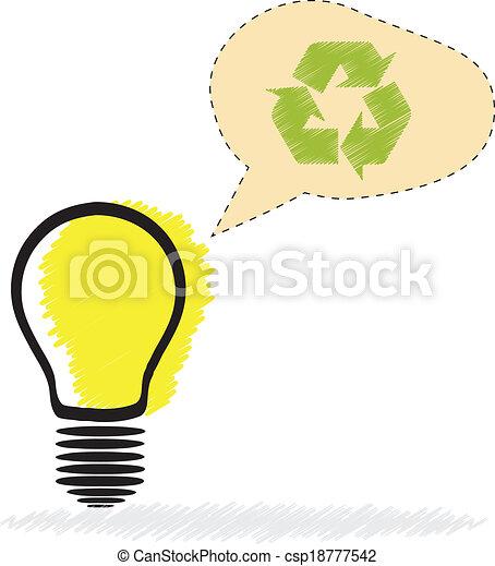 Light Bulb   - csp18777542
