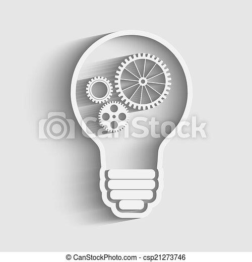 light bulb - csp21273746