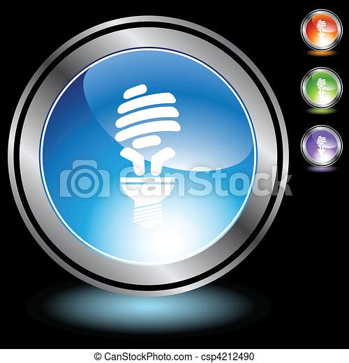 Light Bulb Icon - csp4212490