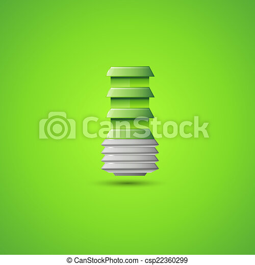 Light Bulb Illustration - csp22360299