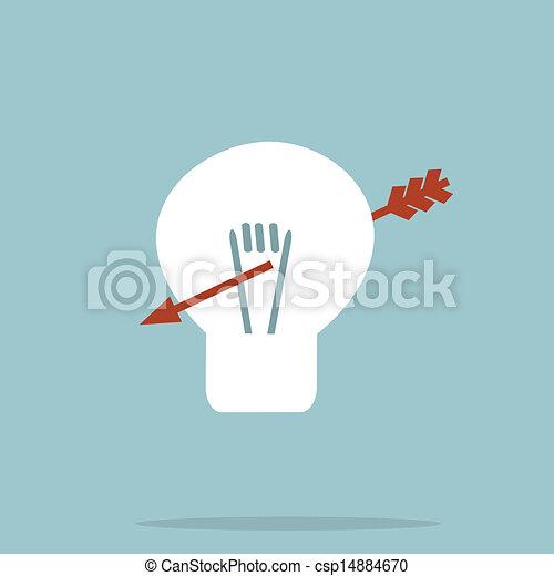 Light bulb - csp14884670