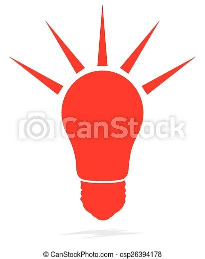 Light bulb - csp26394178