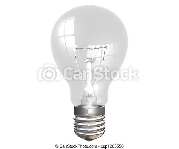 Light bulb - csp1265556