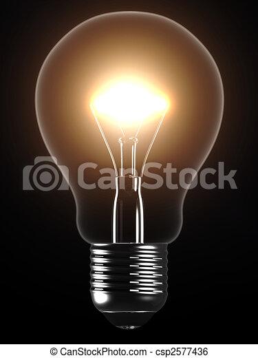 light bulb - csp2577436