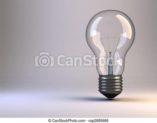 Light bulb - csp2685666