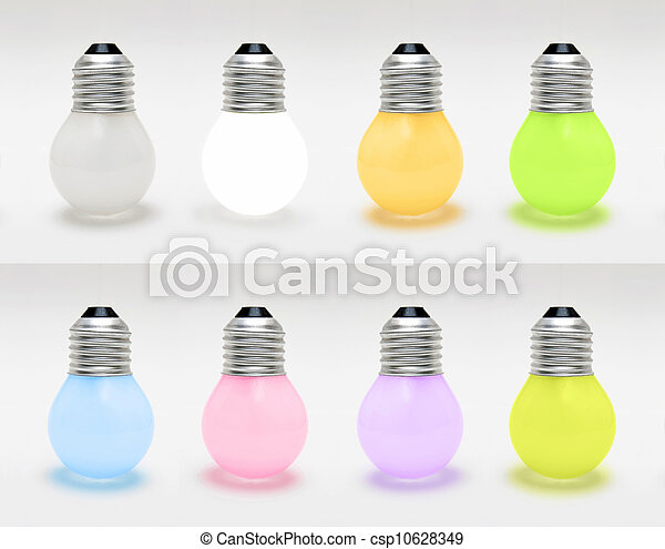 Light bulb - csp10628349