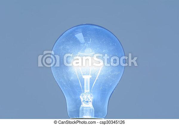 Light bulb - csp30345126