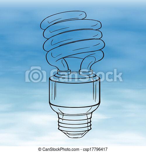 Light bulb - csp17796417