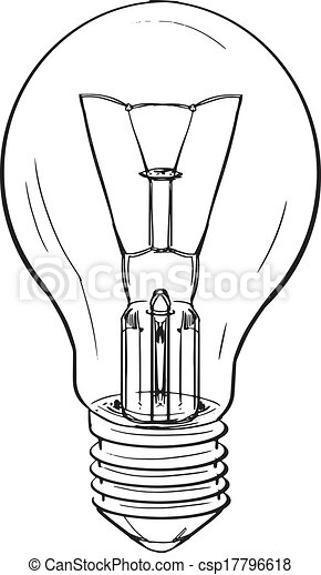 Light bulb - csp17796618