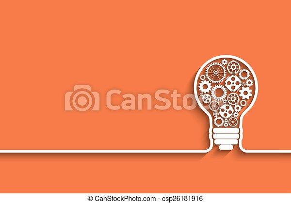 light bulb - csp26181916