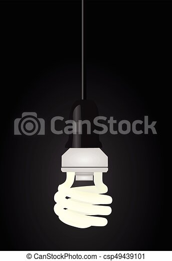 Light bulb - csp49439101