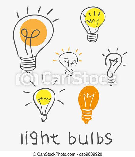 light bulb - csp9809920