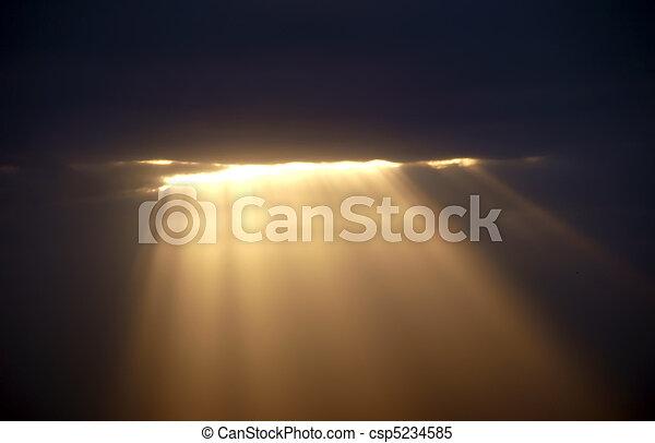 Light from heaven        - csp5234585