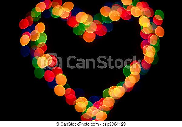 light heart - csp3364123