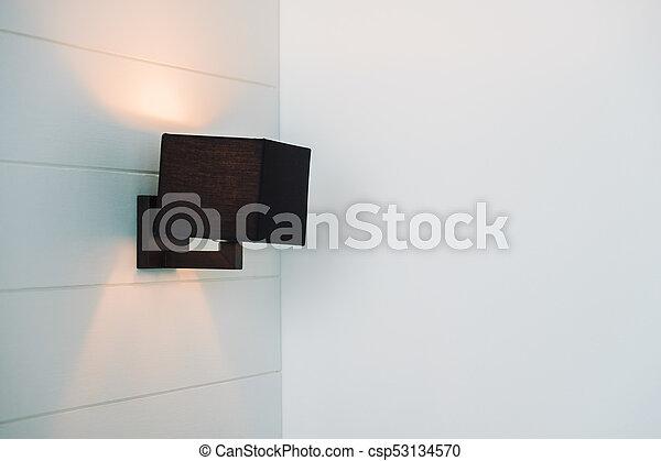 light lamp on wall - csp53134570