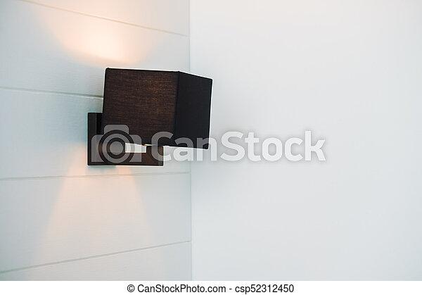 light lamp on wall - csp52312450