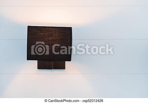 light lamp on wall - csp52312426