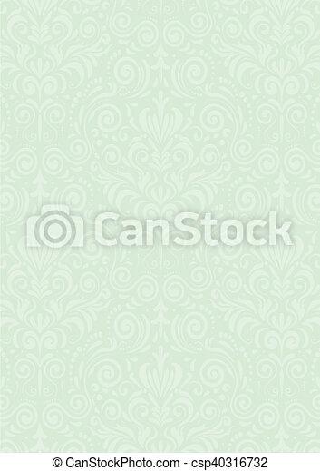 Mint Green Vintage Background